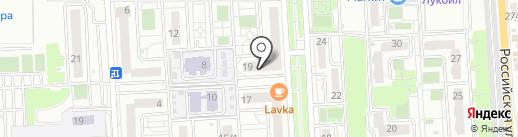 Омни на карте Краснодара