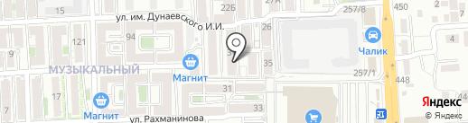 МЕДСОНАР на карте Краснодара