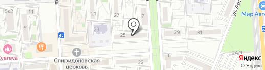 Mad Nail на карте Краснодара