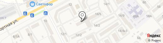 Винтик и шпунтик на карте Семилуков