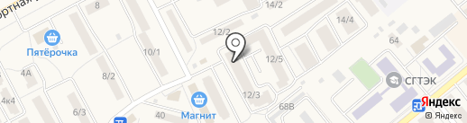 Гиппократ на карте Семилуков