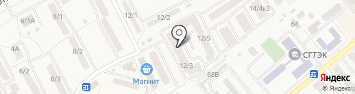 Магазин товаров для рыбалки на карте Семилуков