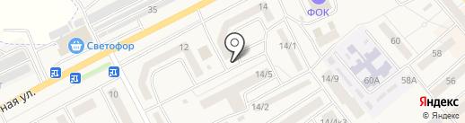 Артезианская скважина на карте Семилуков