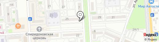 Нипочем на карте Краснодара