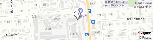 Альтернатива на карте Краснодара