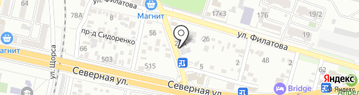 Tuning-elite на карте Краснодара