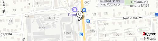 Универсам на карте Краснодара