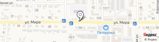 Магазин мясной продукции на ул. Мира (Южный) на карте Южного
