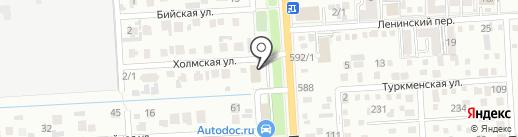 Энергомера на карте Краснодара