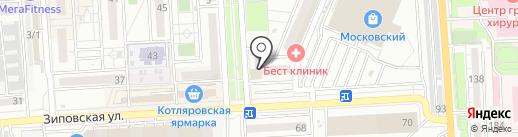SOS на карте Краснодара