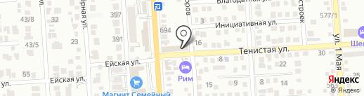Эти детки на карте Краснодара