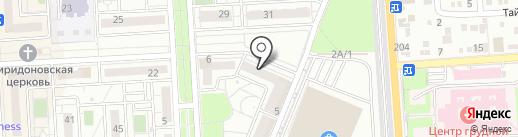 Сервис-Мастер на карте Краснодара