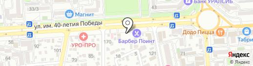 Армата на карте Краснодара