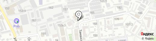 Сonfento на карте Краснодара