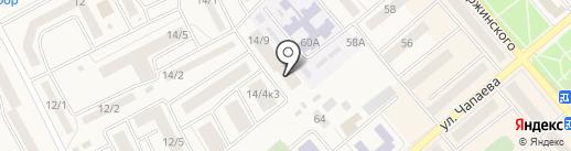 Лёва на карте Семилуков