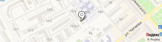 Монро на карте Семилуков