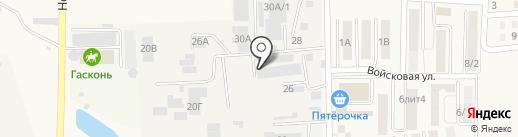 Компания Альфа Пласт на карте Южного