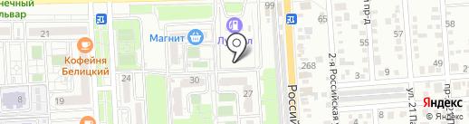 Регион-Строй на карте Краснодара