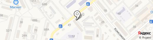 Кружева на карте Семилуков