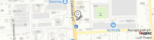Tvoya мебель на карте Краснодара