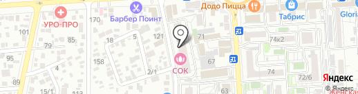 Лаборатория здоровья на карте Краснодара