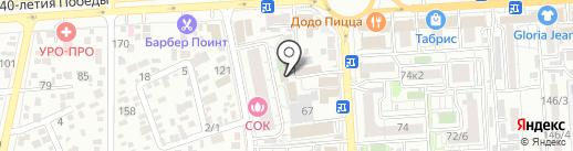 Европос Групп на карте Краснодара