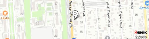 Пир Горой на карте Краснодара