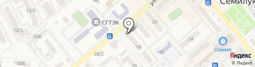Интеравто на карте Семилуков