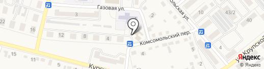 Киоск по ремонту обуви на карте Семилуков