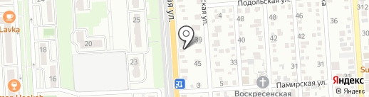 Магазин автозапчастей на карте Краснодара