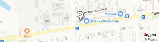 Динск-Строй на карте Южного