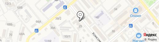 Зайка на карте Семилуков