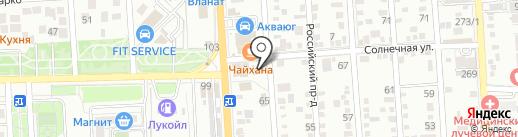 Автосервис ПЛЮС на карте Краснодара