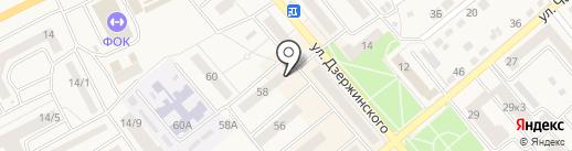 Бирград на карте Семилуков