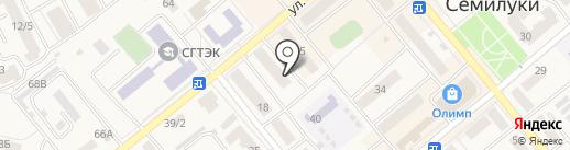 Веб-студия Сергея Бакалова на карте Семилуков