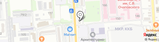 ГУК-Краснодар на карте Краснодара