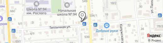Наша Компания на карте Краснодара