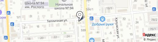 СКС-Монтаж на карте Краснодара