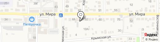 Магазин разливного пива на ул. Мира (Южный) на карте Южного