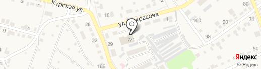 Энкор на карте Семилуков