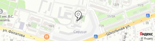 Констал на карте Краснодара