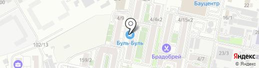 Буль-Буль на карте Краснодара