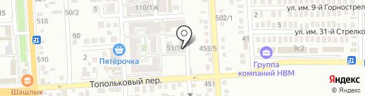Ай-Ти-Би на карте Краснодара