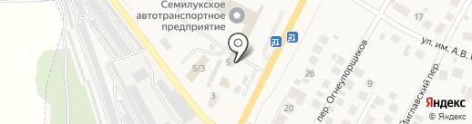 МООЛ на карте Семилуков