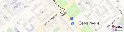 Глория на карте Семилуков