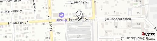 Автоэлектрик на карте Российского