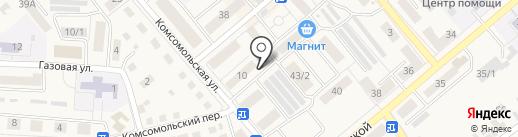 Магазин медицинской техники на карте Семилуков