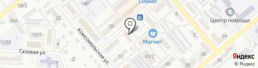 Аэлита на карте Семилуков