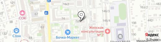 Pandora на карте Краснодара