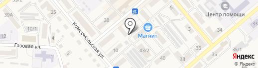 Стиль на карте Семилуков